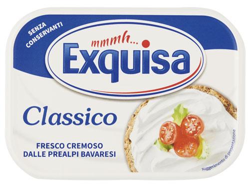 Formaggio fresco spalmabile Exquisa classico/light 175 g