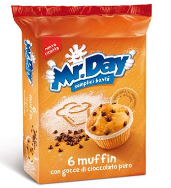 Mister Muffin Mr.Day vari gusti x 6 252 g