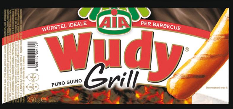 Wudy grill puro suino Aia 250 g