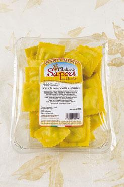 Ravioli ricotta e spinaci Antichi Sapori Marche 500g