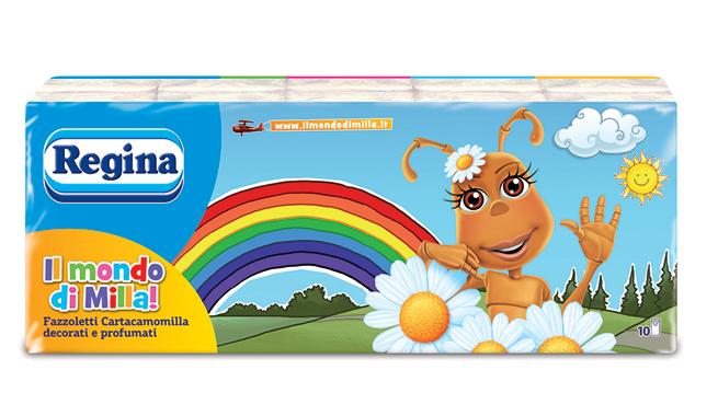 Fazzoletti Regina x 10 pacchetti