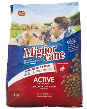 Croccantini Migliorcane Active/Special menu/Senior 4 kg