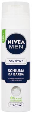 Schiuma da barba Nivea Sensitive/Protettiva 200 ml