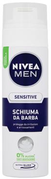 Schiuma da barba Nivea vari tipi   sensitive 200 ml