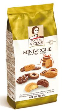 Mini Voglie pasticceria assortita Vicenzi 300 g