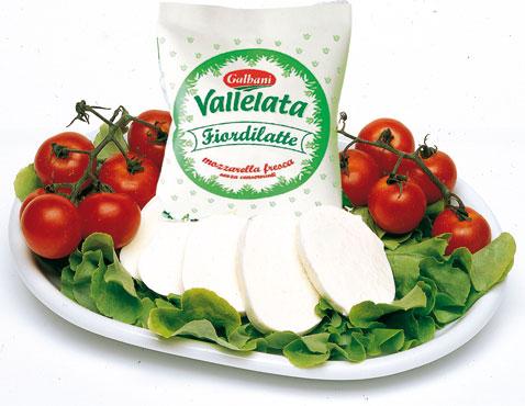 Mozzarella Vallelata al kg