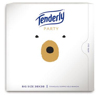 Tovagliolo Tenderly Party 2 veli