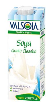 Soyadrink gusto classico/morbido Valsoia 1 l