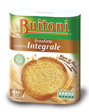 Fette biscottate classiche/integrali Buitoni x40 300 g