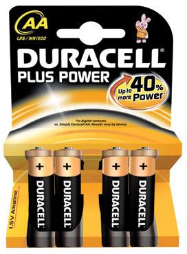 Pile Duracell Plus stilo/ministilo x 4