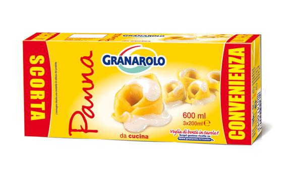 Panna uht Granarolo 3 x 100 ml