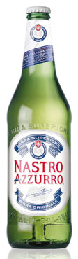 Birra Nastro Azzurro bottiglia 66 cl