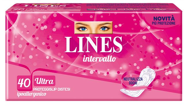 Proteggi-slip Intervallo Lines vari tipi x 30/40