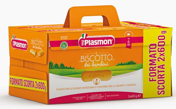 Biscotti Plasmon 2 x 600 g