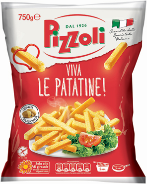 Patatine We Love Croccanti Pizzoli 750 g