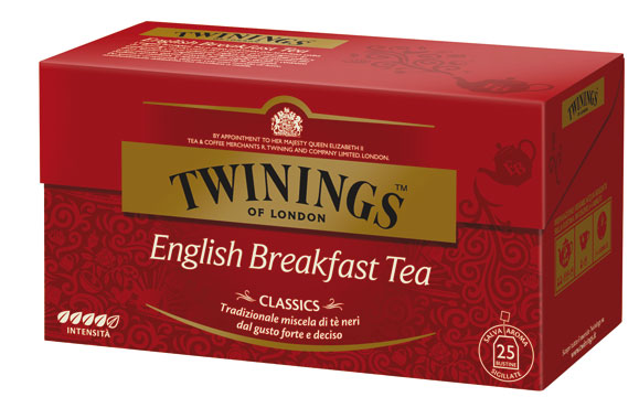 Tea Twinings grey/breakfast/lemon/verde 25 filtri