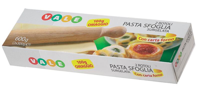 Pasta sfoglia Vale 600 g