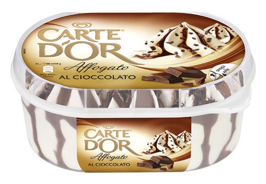 Carte D'Or affogato vari gusti 500 g