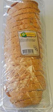 Pane a fette Gastreghini confezionato 350 g circa al kg