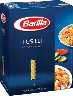 Pasta di semola Barilla formati classici 500 g