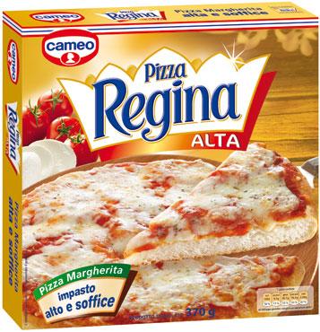 Pizza Regina Margherita alta Cameo 375 g