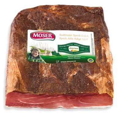 Speck dell'Alto Adige IGP Moser al kg