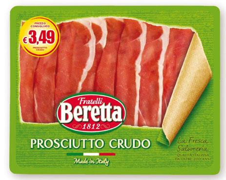 Prosciutto crudo Fresca Salumeria Beretta 100 g