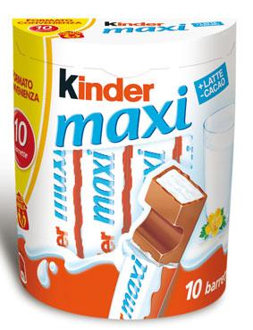 Kinder maxi 210 g
