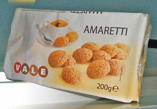 Amaretti vaschetta Vale 200 g