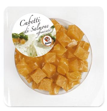 Cubetti di Salmone affumicato Riunione 70 g