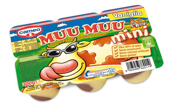 Muu-Muu mini Cameo vari gusti  6 x 50 g