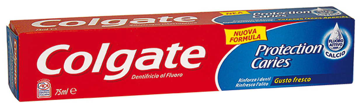 Dentifrici Colgate linea base vari tipi 75 ml