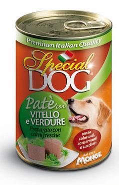 Special Dog pate' vari gusti 400 g