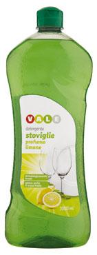 Detersivo Piatti Limone/Aceto Vale 1 l