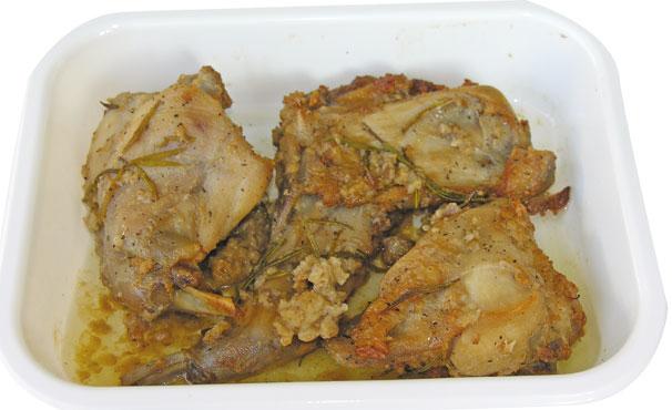 Coniglio arrosto Pranzo&cena al kg