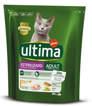 Alimento secco per gatti Ultima vari tipi 400 g