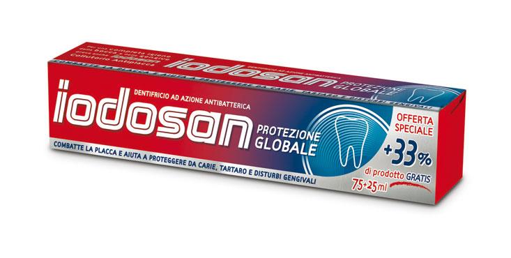 Dentifricio Iodosan protezione globale 75 ml