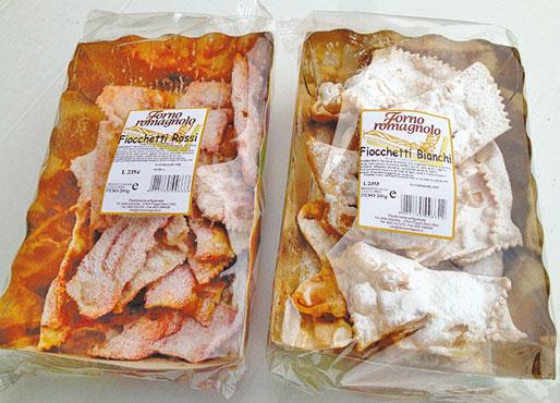 Fiocchetti Forno Romagnolo vari tipi 200 g