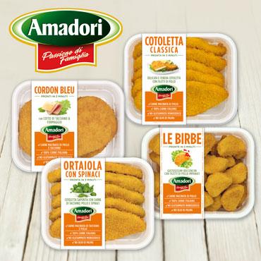 cordon belu - bocconcini di pollo - cotoletta di pollo - ortaiola 550 g, al pz
