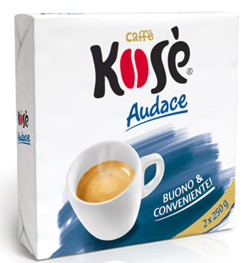Caffe' Kose' Blu Audace 2 x 250 g