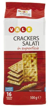 crackers salati vale 500g