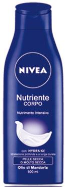 Crema Corpo Nivea vari tipi 200/500 ml