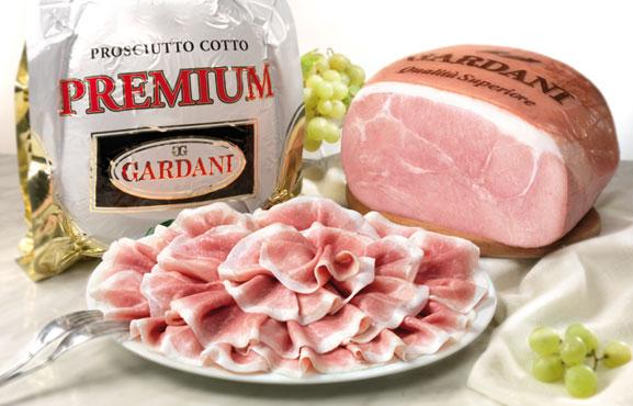Prosciutto cotto 100% carne Italiana Gardani al kg