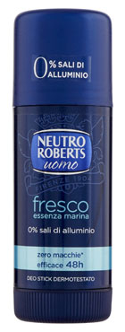 Deo Neutro Roberts stick/spray vari tipi 40/75/150 ml