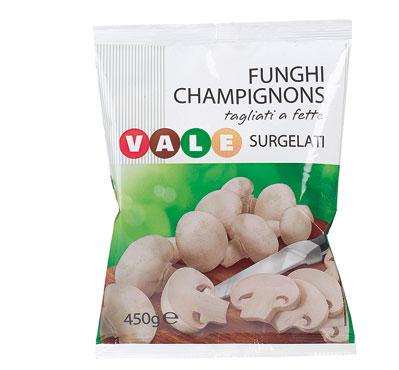 Funghi champignons Vale 450 g
