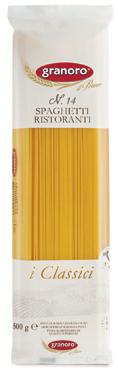 Pasta di semola Granoro formati classici 500 g