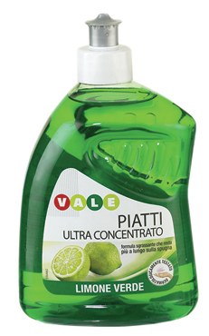 Detergente Piatti concentrato Vale 500 ml