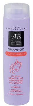 SHAMPOO NUTRIENTE ML.250 A&B