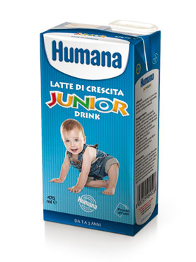 Latte Humana 3 Junior drink 470 ml