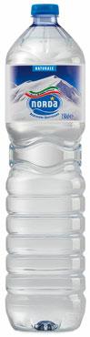 Acqua minerale Norda vari tipi 1,5 l